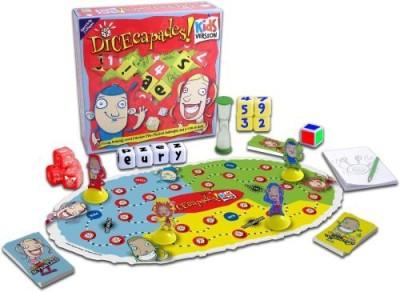Haywire Group Dicecapades Kids Version Board Game