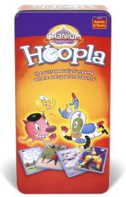 Cranium Hoopla Tin Board Game