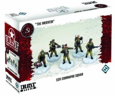 Fantasy Flight Games Dust Tactics Ssu Command Squad Board Game
