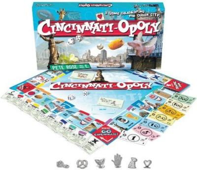 Late for the Sky Cincinnati-opoly Board Game