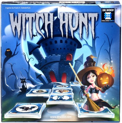 DR.WOODS WITCH HUNT Board Game