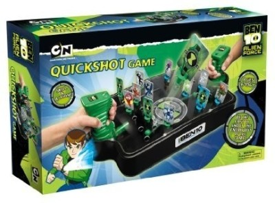 Pressman Ben 10 Quick Shot Board Game