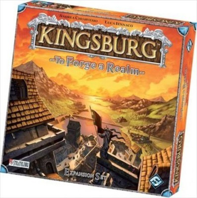Fantasy Flight Games Kingsburg To Forge A Realm Expansion Board Game