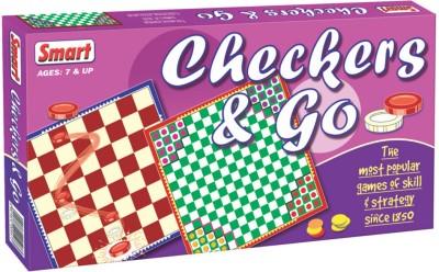 Smart Checkers & Go Board Game