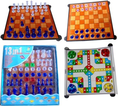 Arthr Chess Set ludo & checkers Board Game