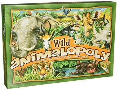 Late for the Sky Wild Animalopoly Board Game