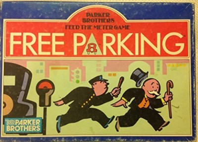 Parker Free Parkingfeed The Meter (1988) Board Game