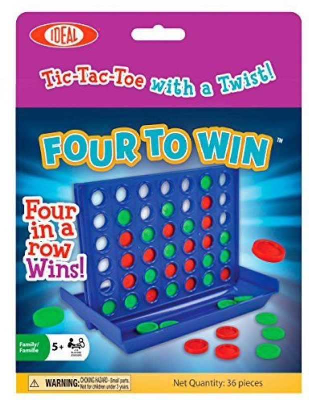 Ideal Four To Win Board Game