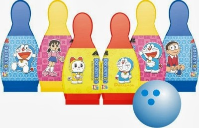 Ben 10 Doraemon Bowling Set Small Board Game