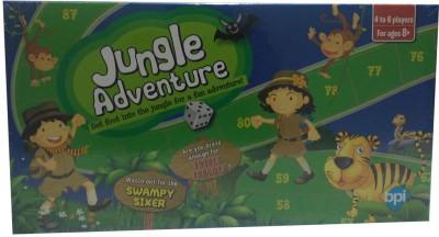BPI Small Jungle Safari-4107 Board Game
