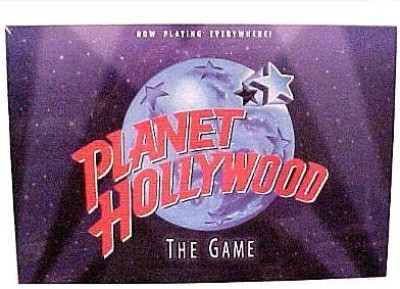 Milton Bradley Planet Hollywood The Of Movie Trivia Board Game