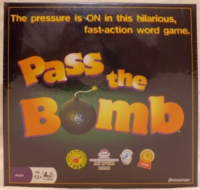 Pressman Toy Pass The Bomb Board Game