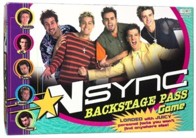 Patch Nsync Backstage Pass Board Game