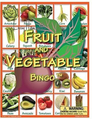 Lucy Hammett Games Fruit And Vegetable Bingo Board Game