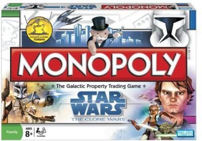 Monopoly Clone Wars Board Game