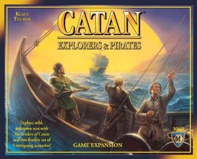 Mayfair Games Catan Explorers & Pirates Expansion 4Th Edition Board Game