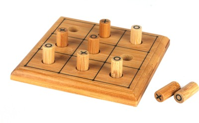 Hamleys Travel Mini Bamboo Games Board Game