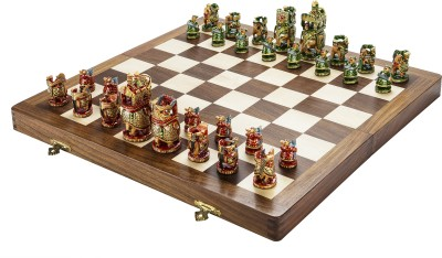 Chessncrafts AI-CNC-MJ-3 9 cm Chess Board