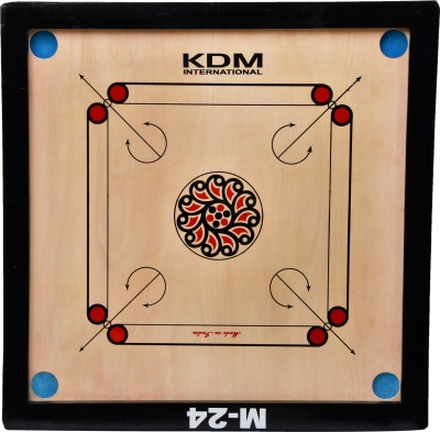 KDM SPORTS M 24 26 inch Carrom Board available at Flipkart for Rs.1099
