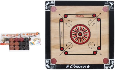JD Sports jdproduct 1.5 inch Carrom Board available at Flipkart for Rs.660