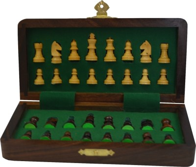 Chessncrafts 7 x 7 Fitted Magnetic (CNC-MT-4) Chess Board