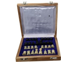 Craft Trade Wood Game 5 cm Chess Board(Multicolor)