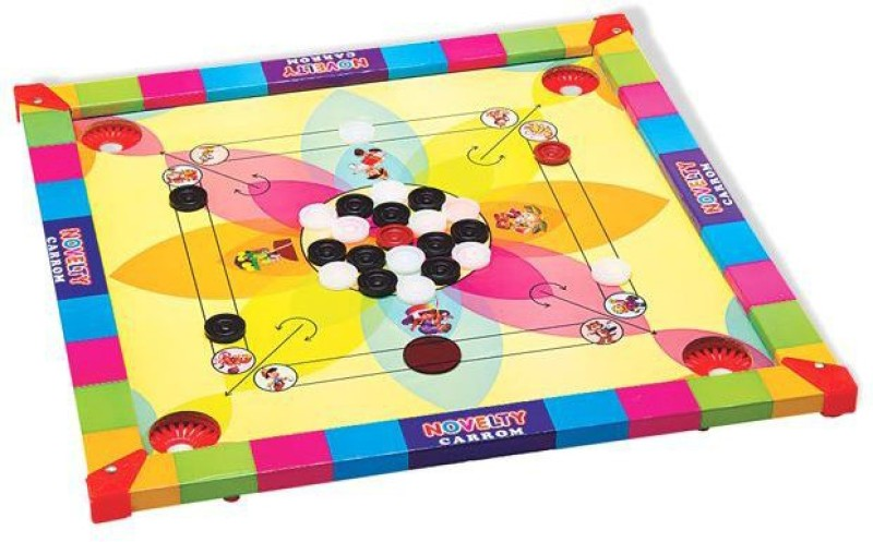 Saturn Dm 44 cm Carrom Board(Multicolor)