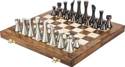 Chessncrafts AI-CNC-BR-6 7.5 cm Chess Board