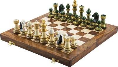 Chessncrafts AI-CNC-MJ-2 7.5 cm Chess Board