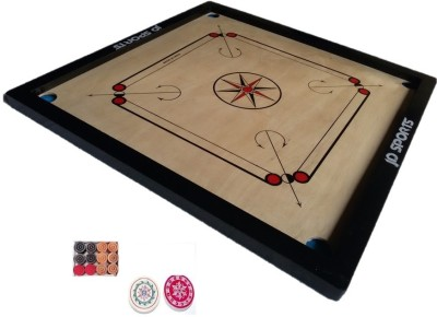 JD Sports full carrom 1.5 inch Carrom Board