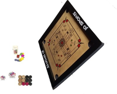 JD Sports ludocarrom 1.5 inch Carrom Board available at Flipkart for Rs.899