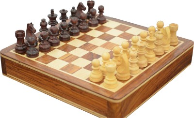 Chessncrafts Magnetic Travel Chess Board