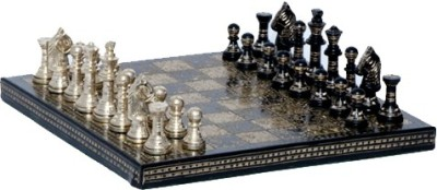 FS Brass Brass Chess Board 25.4 cm Chess Board