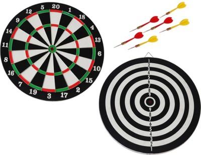 Vinex Board Deluxe Fifteen Inch 15 inch Dart Board(Multicolor)