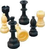 Vinex Chessmen Classic Chess Board (Blac...
