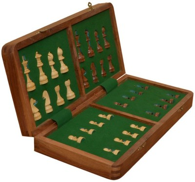 Chessbazzar Travel Series Folding Magnetic Chess Chess Board