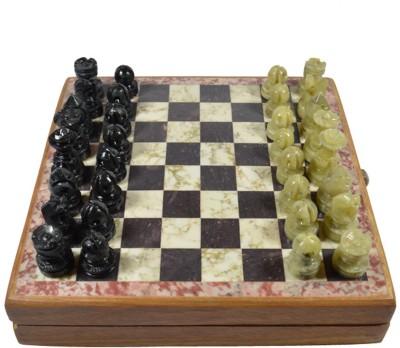 Craftuno Handcrafted Soapstone 1.5 inch Chess Board