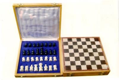 Radhey Marble Shatranj Made To Pure Stone 10 inch Chess Board