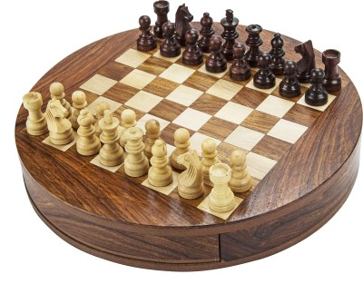 Chessncrafts AI-CNC-MT-2 5 cm Chess Board