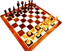 Anshul Fashion Handmade Chess 2 inch Chess Board(Brown)