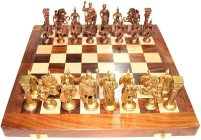Prop It Up Vintage Chess set 14 inch Chess Board