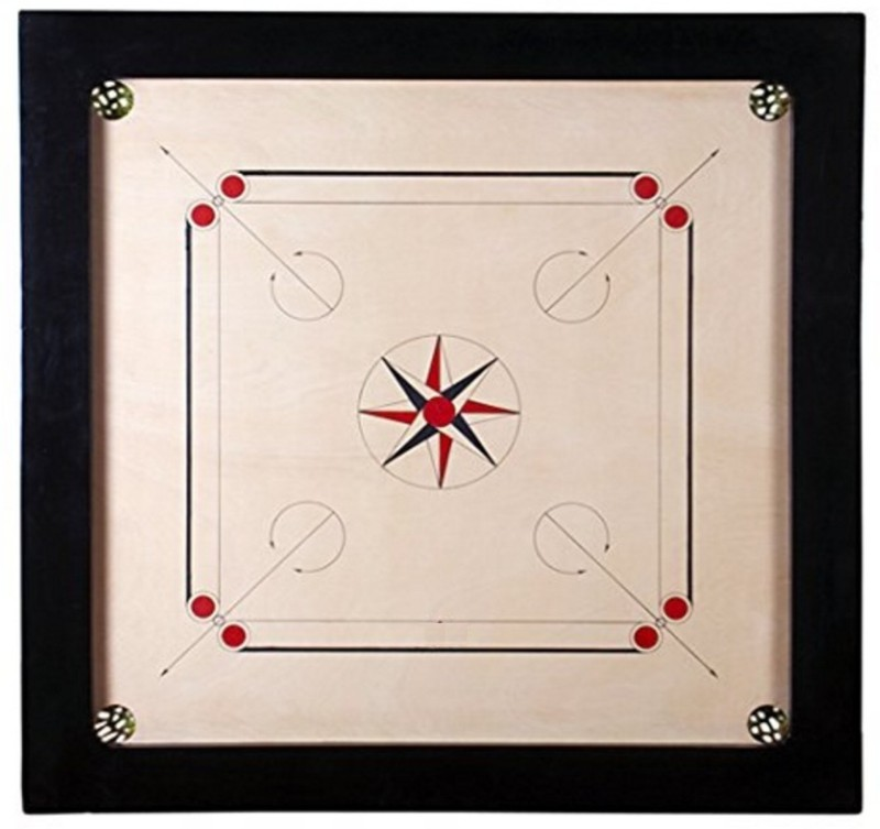 NHD Diamond M26 5 cm Carrom Board(Multicolor)