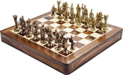 Chessncrafts AI-CNC-BR-4 8 cm Chess Board