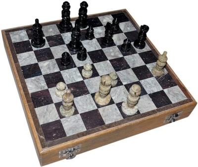 Radhey Marble 30 Cm Shatranj Or Chesss 12 inch Chess Board