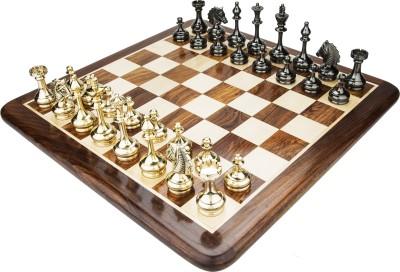 Chessncrafts AI-CNC-BR-14 8 cm Chess Board