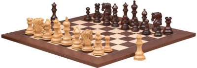 Chessbazaar Admiral Series Set & Montgoy Palisander Maple Deluxe Finish 4.5 inch Chess Board