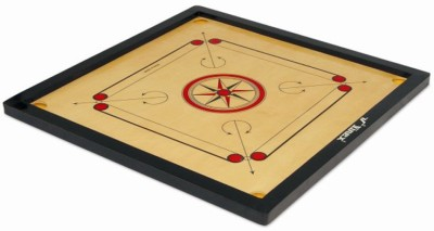 Vinex Vinex Carrom Board   Super  Small Size, 1.5 Inch Border  2 inch Carrom Board available at Flipkart for Rs.644