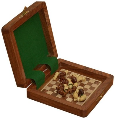 Chessbazzar Travel Series Magnetic Book Chess Board