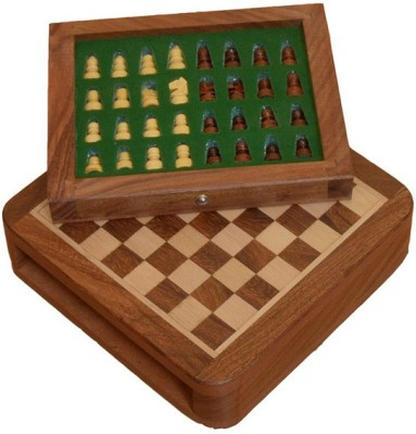 Chessbazaar Magnetic Drawer Fitted Chess Board