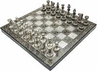 Tanmay Handicraft Brass Chess set 14 inch Chess Board